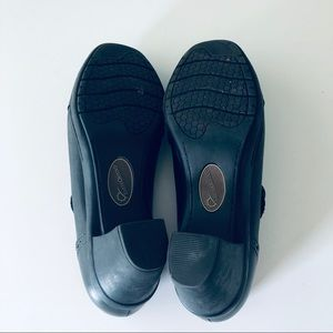"Earth Origins Shoes - Earth Origins ""Marla 2"" Black Leather Shoes"